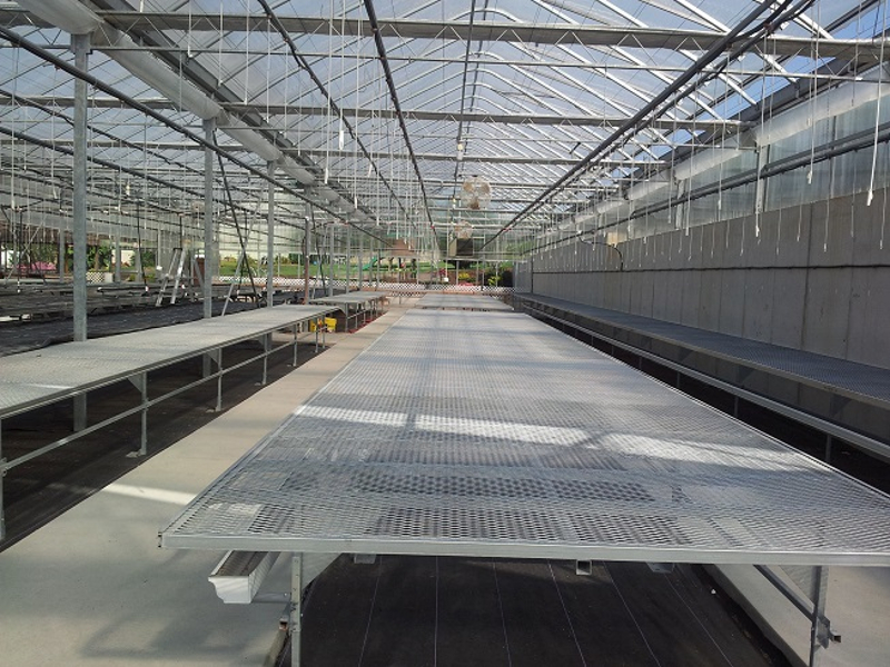 Ebb Amp Flow Benches Evolve Greenhouse Systems
